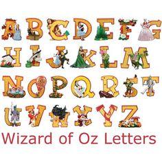 pics of wizard of oz items   Wizard of Oz - Freebie alpha - DigiScrapDepot.com