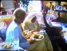 Diana pictured with Hasnat and his Grandmother at Kensington Palace / Picture : Image Collect