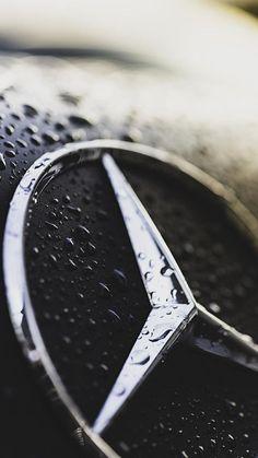 Wet Mercy Logo for iPhone 7 Wallpaper - HD Wallpapers Mercedes Auto, Logo Mercedes, Mercedes Black, Classic Mercedes, Car Iphone Wallpaper, 4k Wallpaper For Mobile, Hd Wallpaper Android, Wallpaper Awesome, Fashion Wallpaper