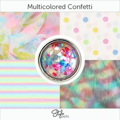 Multicolored Confetti - #styledots #jewelry      https://styledotshome.com/products/dots