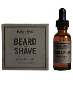 No-frills, essential oil-filled formulas that turn the chore of shaving into a smooth experience (no more nicks or ingrown hairs). Available in three scents. Oil softens hair pre-shave, while soap creates a dense lather that makes for his cleanest shave yet.
