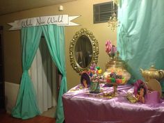 Princess Jasmine Birthday Party Ideas | Photo 6 of 24 | Catch My Party