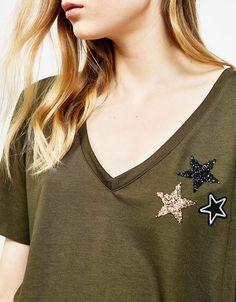 Women's T-shirts   Bershka