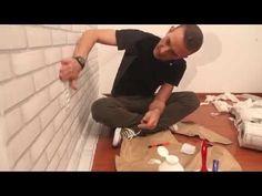A aplicação de tecido em paredes com Marcelo Darghan - YouTube