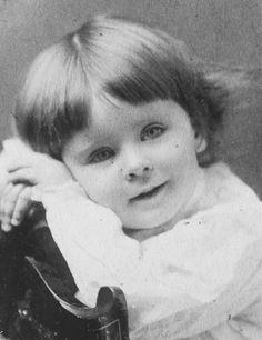 Norma Shearer as a toddler.