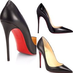 A classic shoe that compliments any style. Love Christian Louboutin So Kate Kid Leather Pumps