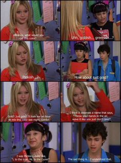 Lizzue McGuire was a great show