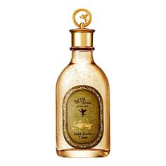 """""""The bottle is heavy and luxurious and the caviar extracts make the toner work well, but leave enough moisture. The gold particles are super visible and make it fun to use as you can pretend you are the heiress to a fortune and starring in your own K-drama."""" —Eli SullivanGet it from Amazon for $16.84."""