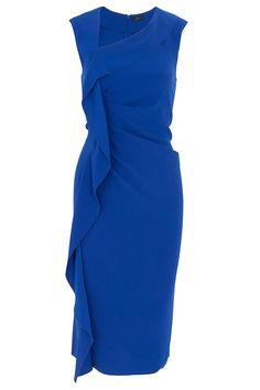 Anya Ruffle Dress By JOSEPH @ http://www.boutique1.com/  nice for work..