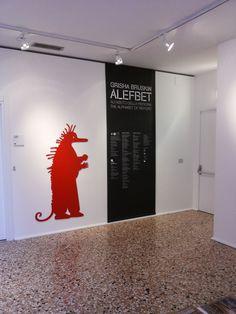"Colophon. Allestimento mostra ""Grisha Bruskin. Alefbet: alfabeto della memoria"". #grishabruskin #querinistampalia #exhibition #russianart #contemporaryart"