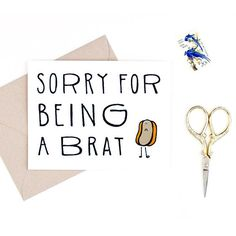 printable sorry card funny im sorry card virtualpaper pinterest cards card ideas and diys