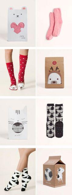//Inspiration of the day - Wie schön man doch Socken und Strumpfhosen verpacken kann!  xoxo loo