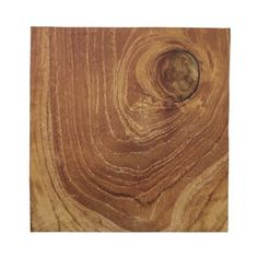 Teak Rustic Wood Grain Nature Wooden Photo Napkin by color_therapy