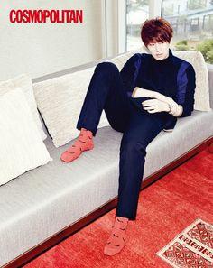 Hee Chul - Cosmopolitan Magazine October Issue '13