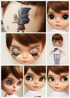 Versenden sie per UPS. Custom Factory Boy Blythe Puppe mit Outfit, Zootopia Thema