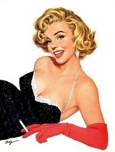 Ben-Hur Baz Vintage Pin Up Girl Illustration Pin Up Vintage, Pub Vintage, Images Vintage, Vintage Art, Retro Pin Up, Vintage Drawing, Vintage Italian, Retro Ads, Pin Up Girls