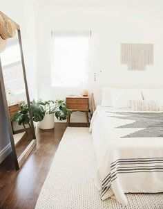 Full length mirror bedroom idea decoration