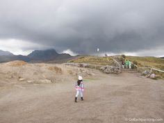 Riding the Quito Teleferico & Climbing Pichincha Volcano
