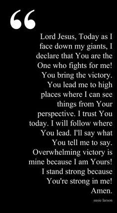 A good morning prayer
