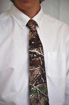 Mens Camouflage Ties, camo ties, Mossy Oak,realtree, Camo, Hunting, Outdoors