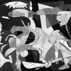Picasso's original Guernica in Madrid - one of the most intense and emotional experiences of my life.