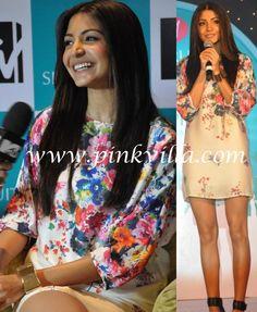 Anushka Sharma in Zara - YaY. like her dress