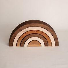 Cnc, Busy Board Baby, Montessori Playroom, Wooden Rainbow, Rainbow Nursery, Wooden Puzzles, Nursery Neutral, Wooden Bowls, Wood Toys