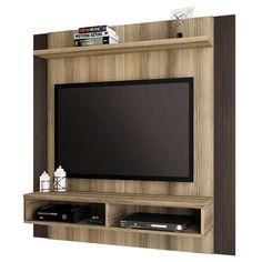 Painel Home, Rack Tv, Tv Wall Decor, Wall Mounted Tv, Capri, Furniture, Design, Home Decor, Windmill