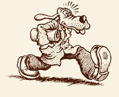 Dirty Dog from Zap Comix #3 by Robert Crumb (underground comics)
