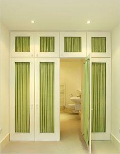 built in wardrobe, hidden bathroom - Google Search Wardrobe Doors, Closet Doors, Cabinet Doors