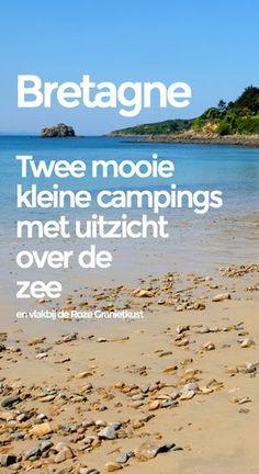 Twee rustige, kleine campings, vlakbij de Roze Granietkust van Bretagne, met uitzicht over de zee. #bretagne #kamperen #vakantie #kampeervakantie #camping #campings #kampeerkaart