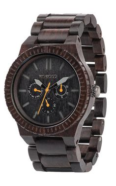 Kappa Black-Orange   WeWOOD Wooden Watches