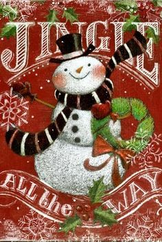 Chalkboard.Snowmen.-.21.of.21.-.Jingle.All.The.Way.Vertical.-.Geoff.Allen