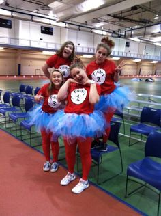 Thing 1 and 2 Costumes :)