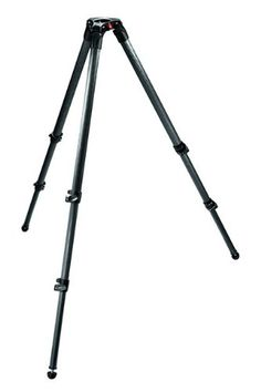 Manfrotto 535 Carbon Fiber 2-Stage Video Tripod with 75mm Bowl (Black) - http://www.rekomande.com/manfrotto-535-carbon-fiber-2-stage-video-tripod-with-75mm-bowl-black/