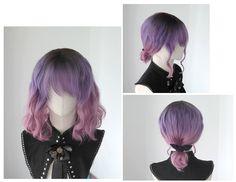 [Kasou Wig] Canelé - ♦ Double Berry ♦ cute lolita wig