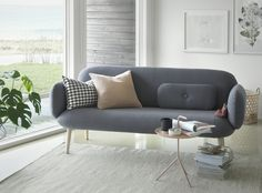 Eira Sofa designed by NokoAnna and developed by Brunstad. World Of Interiors, Creative Industries, Furniture Inspiration, Sofa Design, Love Seat, Couch, Chair, Home Decor, Furnitures