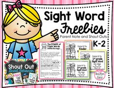 This little freebie will help your students be motivated to complete sight word lists and inform parents on the power of young kids learning their sight words. Your feedback matters. It helps inform me as to the helpfulness of this freebie and to boost my presence on TpT.