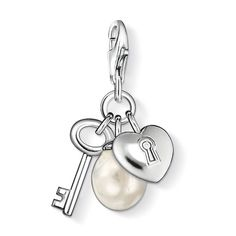 Thomas Sabo | Shop Online - Key to My Heart Charm - perfect for valentines