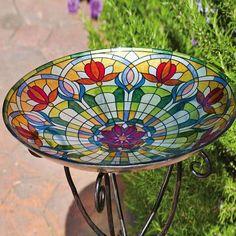 Astoria Grand Belleview Floral Bird Bath
