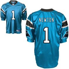 455dcf1024797 Panthers  1 Cam Newton Blue Stitched NFL Jersey Football Gear