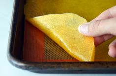 Healthy Homemade Mango Fruit Roll-Ups Recipe | Just a Taste