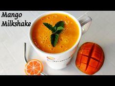 Mango Milkshake, Milkshake Recipes, Drink Recipes, Mango Recipes, Summer Recipes, Food Videos, Fruit, Happy, Youtube