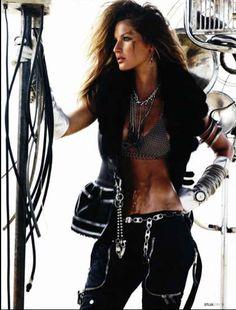 Boho Biker Chick... My fave