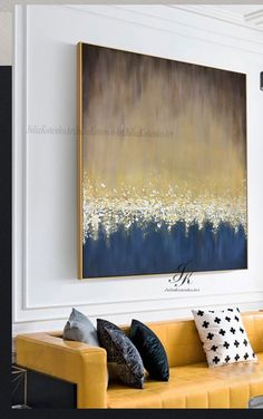 Abstract Painting On Canvas Large Wall Art Textured Art Large Canvas Art Gold Leaf Painting Wall Art Painting Original By Julia Kotenko Abstract Painting On Canvas Large Wall Art Textured Art Etsy Abstract Canvas Wall Art, Large Canvas Art, Diy Canvas Art, Large Wall Art, Wall Canvas, Large Painting, Acrylic Art, Easy Wall Art, Grand Art Mural