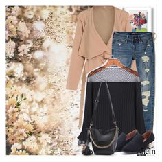 """""""SheIn 8/ 10"""" by emina-095 ❤ liked on Polyvore featuring Graham & Brown, Hollister Co., WithChic and polyvoreeditorial"""