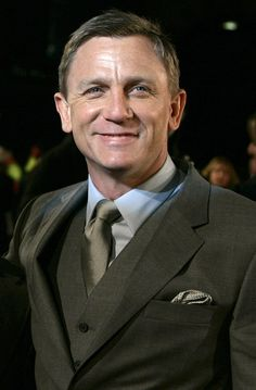 Daniel Craig. I think he's got the style thing down.