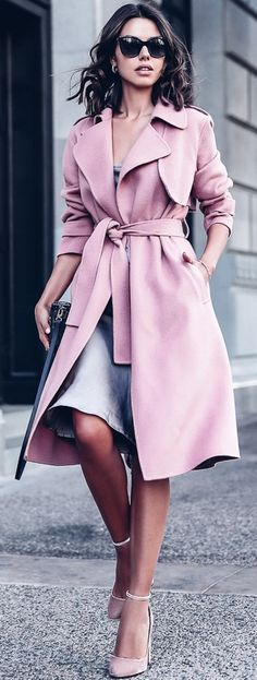Street Style ~ Trench Coat :: Theory Oaklane.