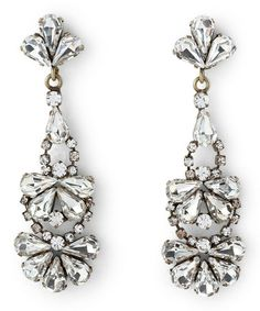 Loving this Crystal Chandelier Earrings on #zulily! #zulilyfinds