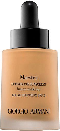 Giorgio Armani Maestro Fusion Makeup Octinoxate Sunscreen SPF 15